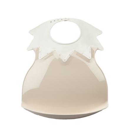 Bavoir arlequin marron glacé