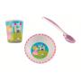 Lot vaisselle princesse bol + gobelet + cuillère